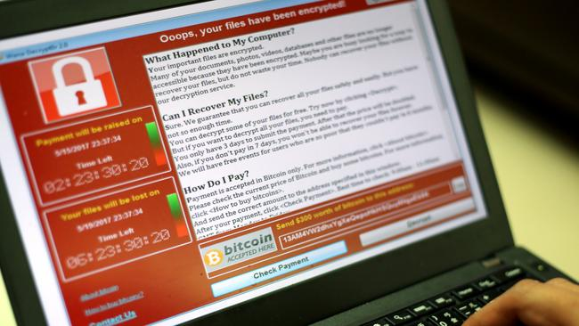 The WannaCry cyberattack affected millions of computers globally. Picture: Supplied