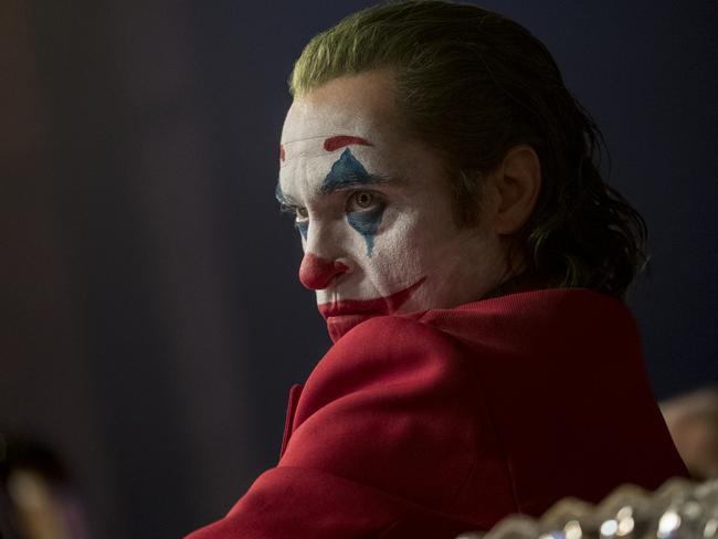 """Joaquin Phoenix as Arthur """"Happy"""" Fleck in a scene from Joker."""