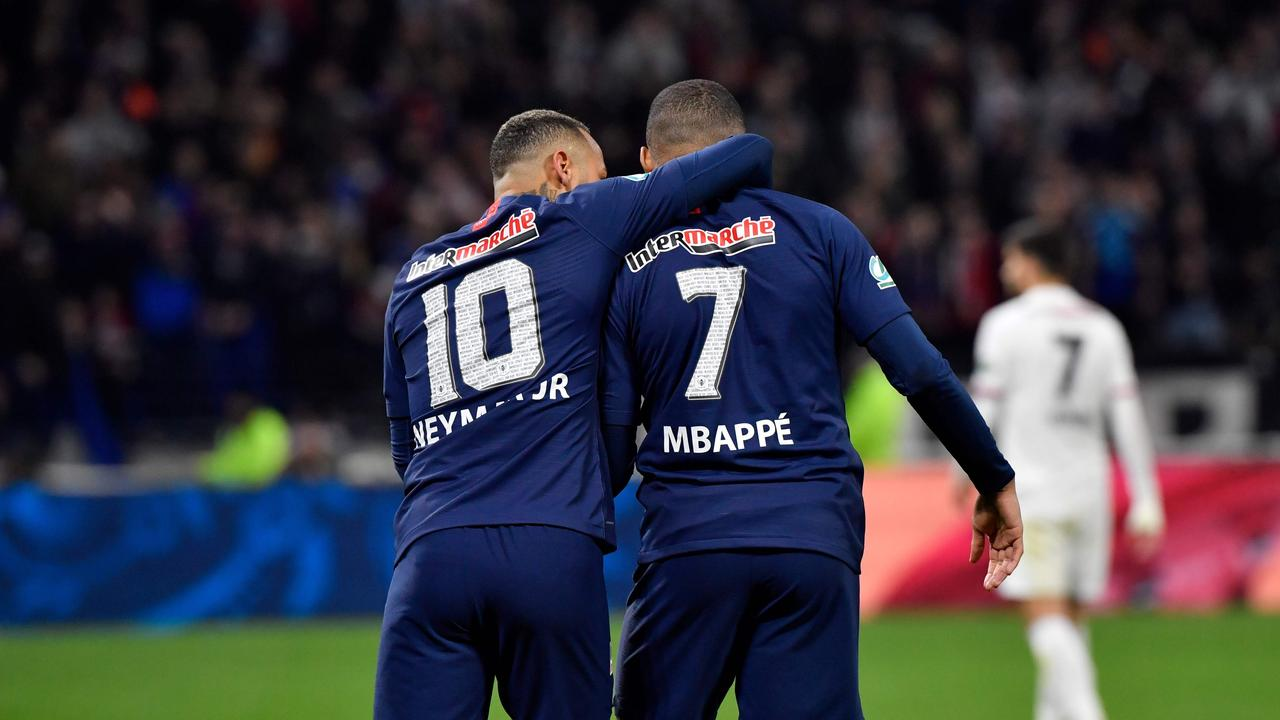 PSG stars Neymar and Kylian Mbappe could be off the pitch for months.