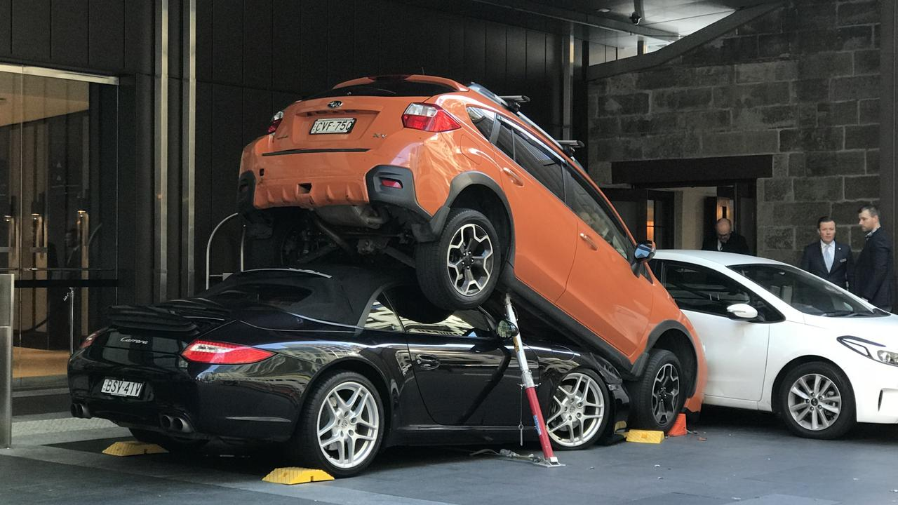 Watch Sydney Valet Driver Shows You How Not To Park A 300,000 Porsche video