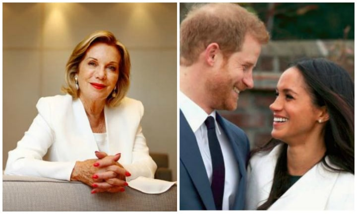 Coverage Of Royal Wedding.Royal Wedding Coverage Ita Buttrose Reportedly Left Studio