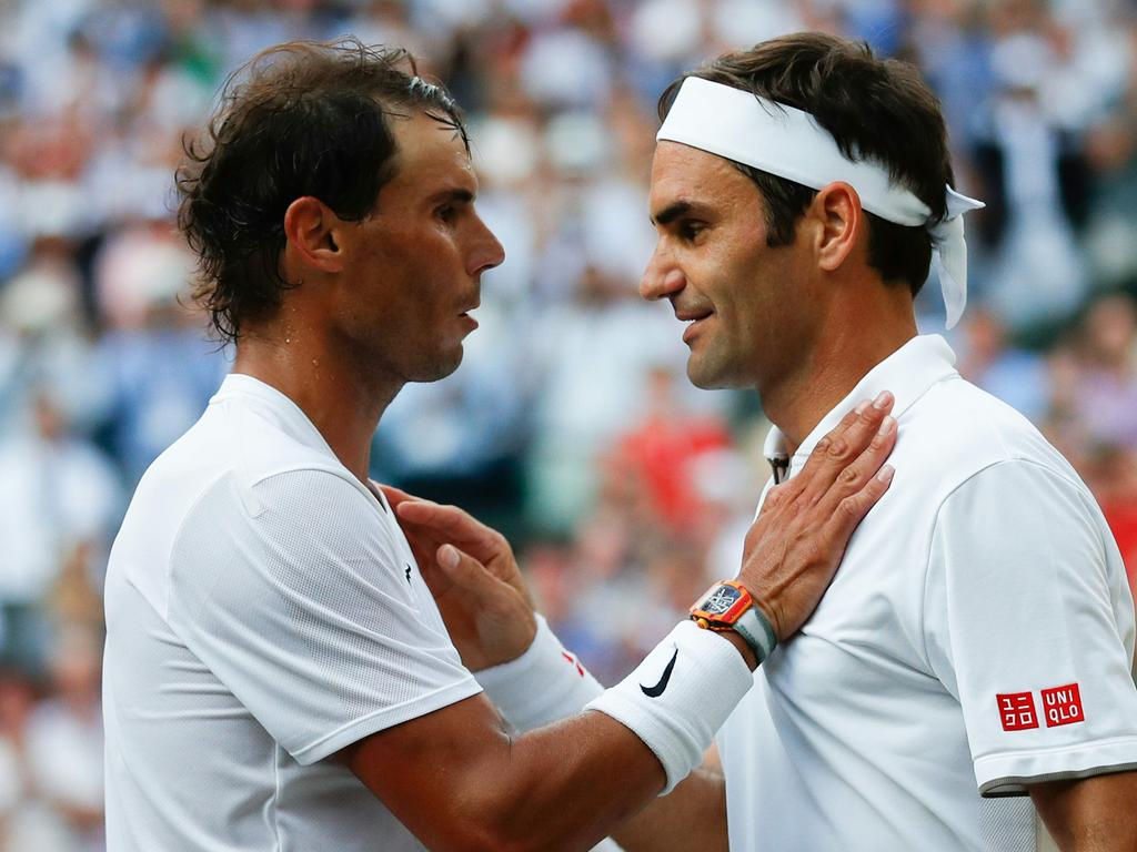 Rafael Nadal and Roger Federer are on the same page.