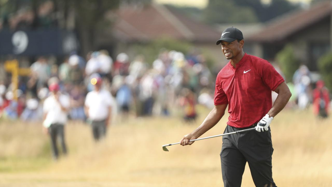 tiger woods british open 2018  tiger is a nostalgia act