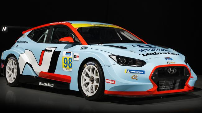 Hyundai racer to showcase new performance coupe