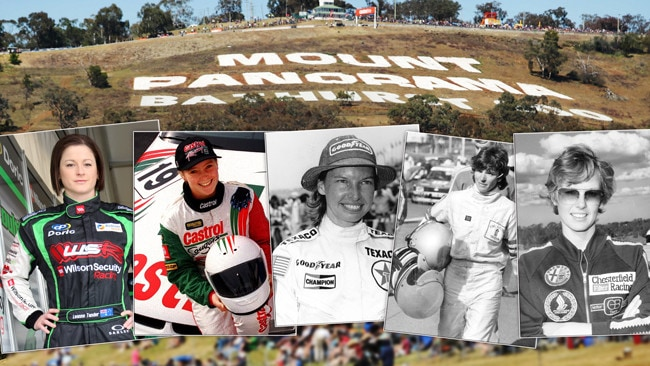 Tander, Brewer, Guthrie, Gibson and Ransom; just a handful of the women to have raced in the Bathurst 1000.