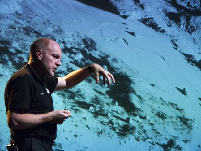 The European Space Agency's Senior Science Advisor Professor Mark McCaughrean says there are many technical, and ethical, challenges yet to be addressed in relation to putting humans on Mars. Picture: ESA