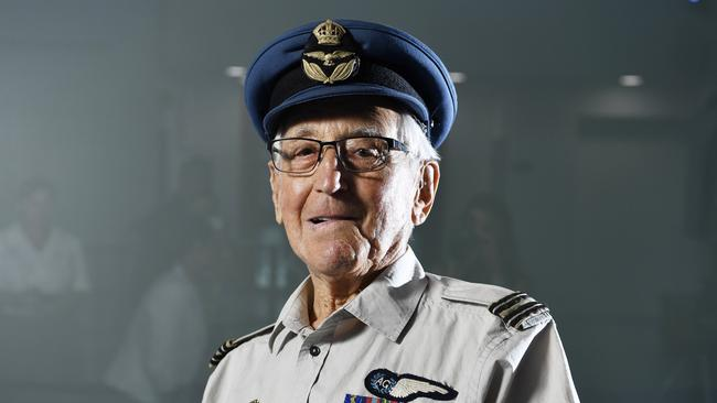 Brian Winspear joined the Royal Australian Air Force as a navigator and Hudson wireless air gunner in 1939 at the age of 19 and was stationed in Kupang on 18 February 1942.