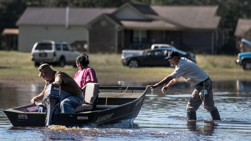 Hurricane Matthew Deadly Flooding Continues In North