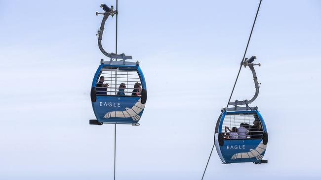 Cable car solution to link Pyrmont and Barangaroo has been