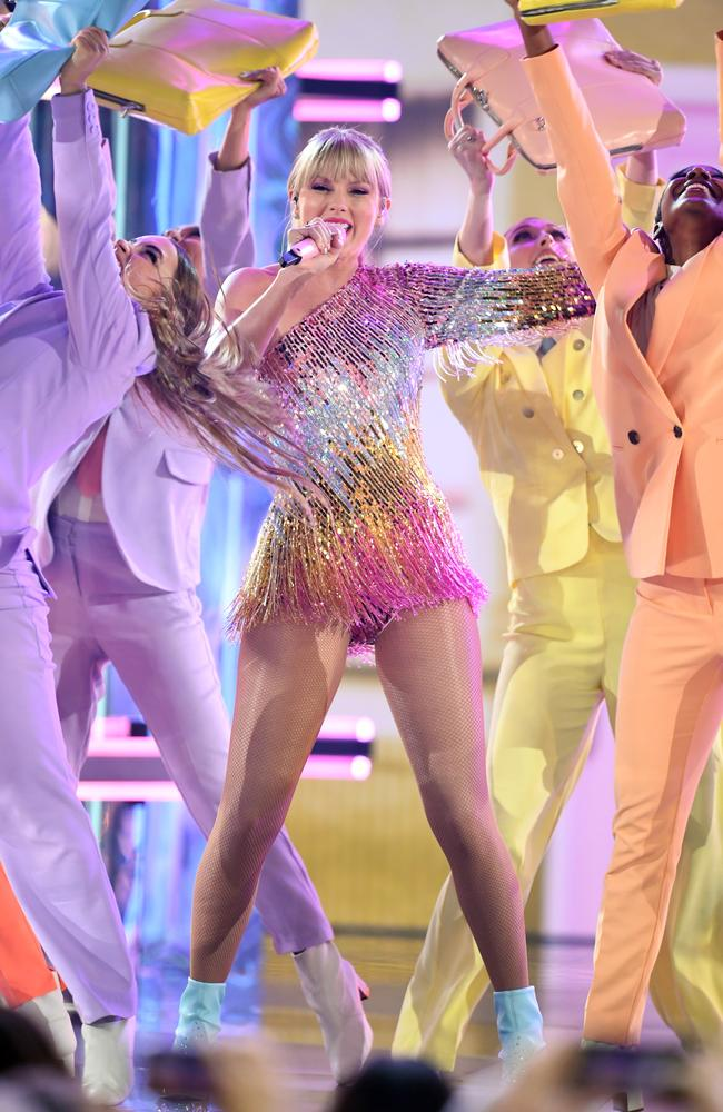 Bad reputation? Taylor Swift opened the 2019 Billboard Music Awards at MGM Grand Garden Arena in Las Vegas. Picture: Getty Images