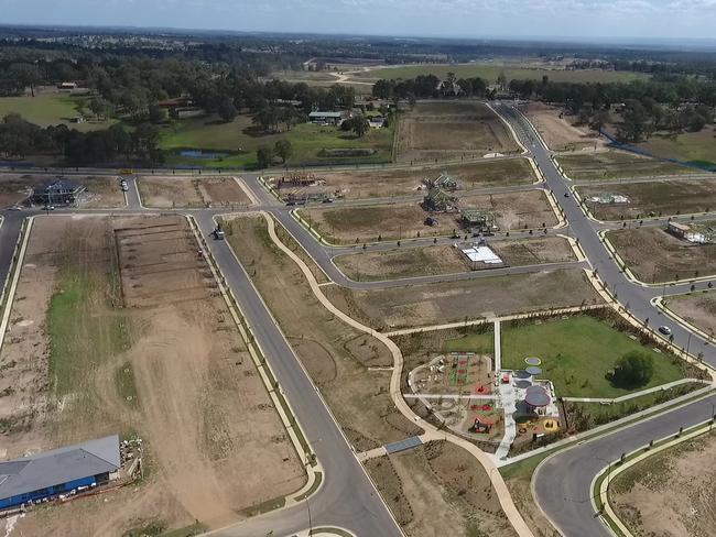 The redevelopment of Box Hill is helping house prices in Cattai