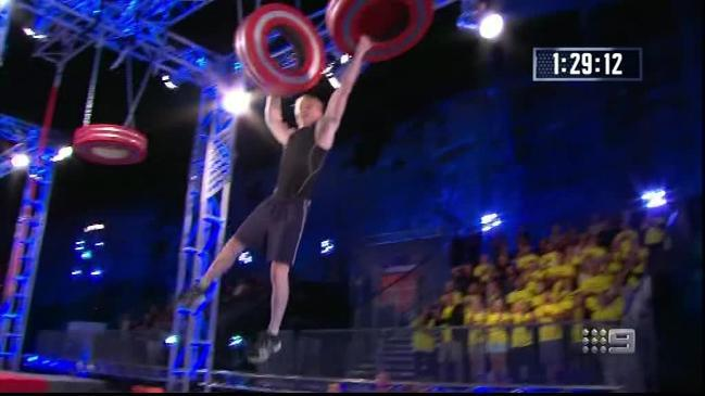 Australian Ninja Warrior - Rob Patterson blasts through the course