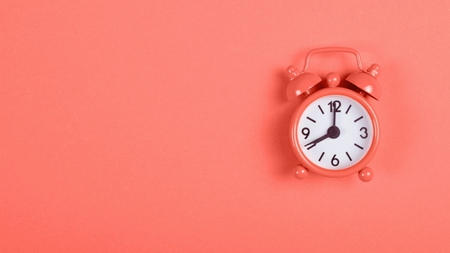 Time is of the essence. Image: iStock.