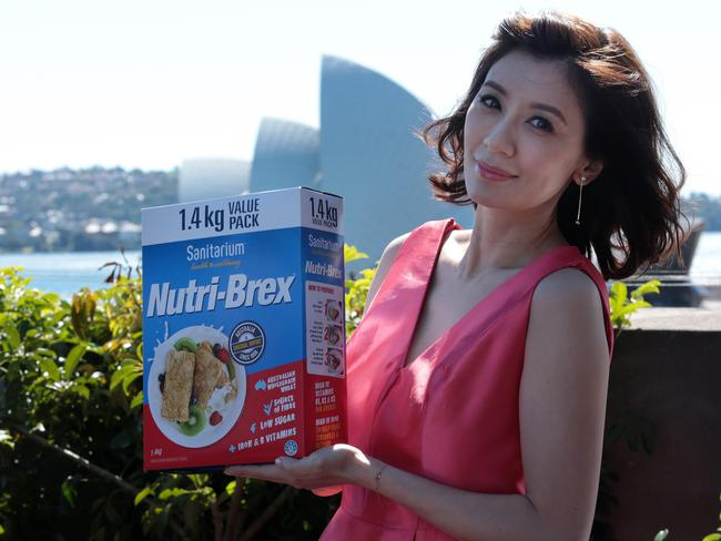 Sanitarium has recruited Chinese model Alyssa Chia to promote their products in China. Picture: John Fotiadis