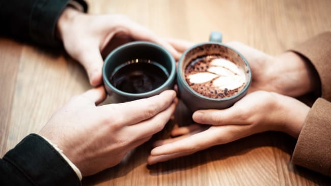 A coffee date. Photo: Photo: Jonathan J. Castellon/ Unsplash