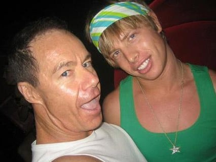 Michael Atkins and Matthew Leveson. Picture: Supplied
