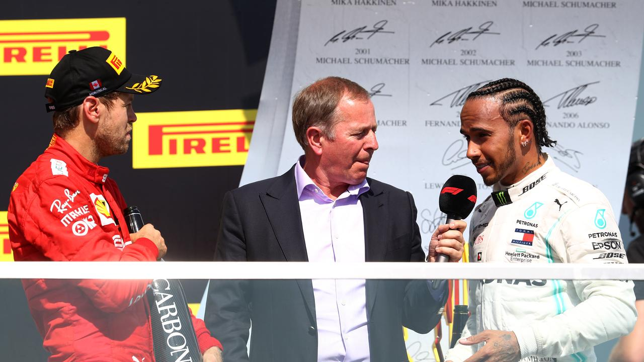 Lewis Hamilton was booed after the race by the strong Ferrari crowd.