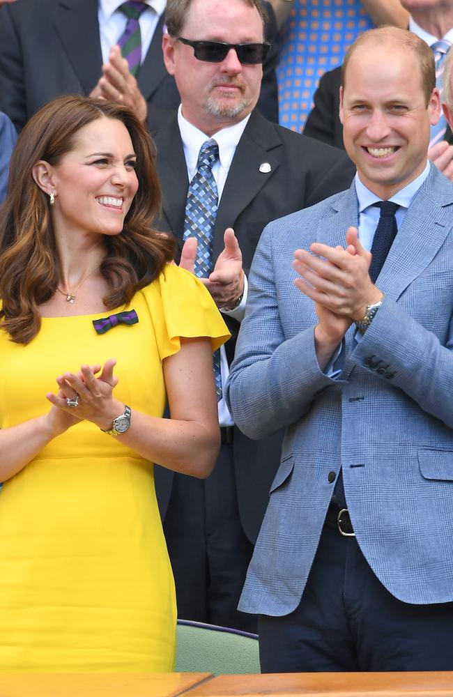 Catherine, Duchess of Cambridge looked stunning in yellow. Picture: Karwai Tang/WireImage