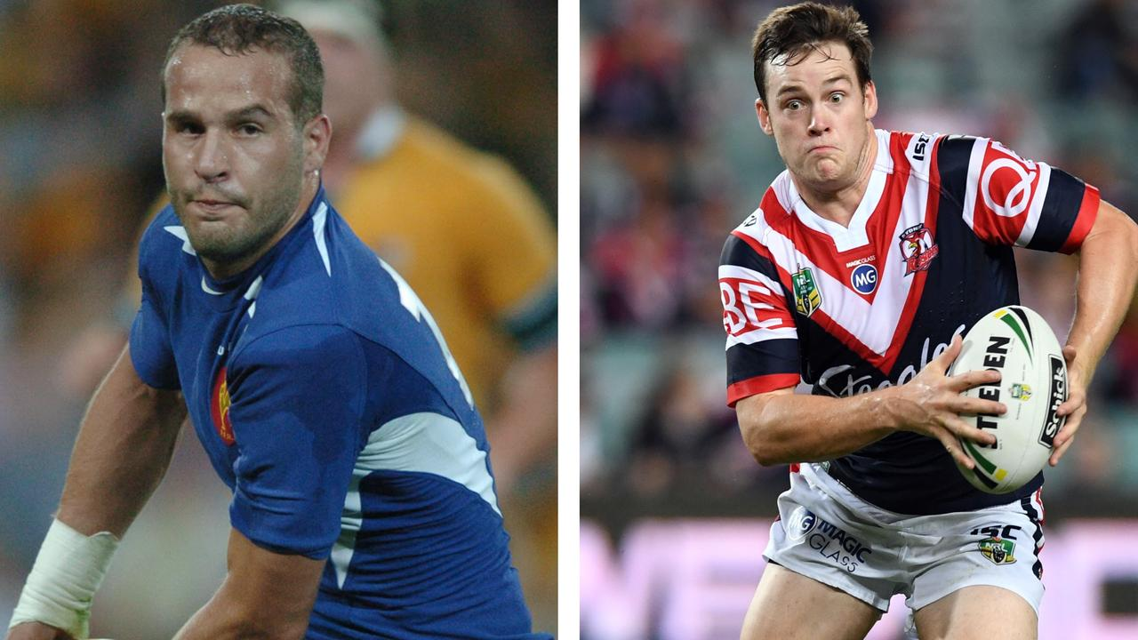 French great Freddie Michalak has been helping Luke Keary's transition to halfback. Photo: Getty Images
