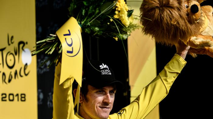 Great Britain's Geraint Thomas.