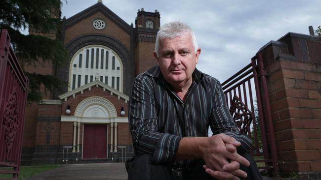 Peter Gogarty, a victim of Catholic paedophile priest Jim Fletcher, was shocked to learn of similar atrocities in the Anglican Church. Picture: Britta Campion