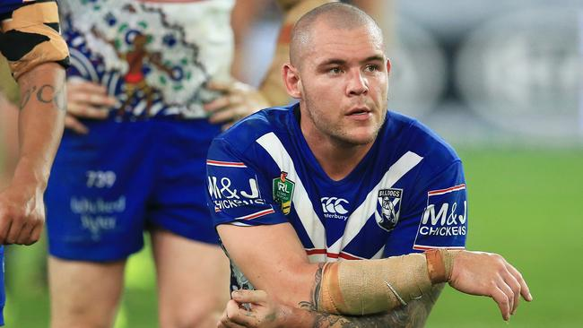 David Klemmer has denied requesting a release from the Bulldogs.