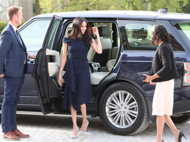 The palace has been impressed by Doria's demeanour. Picture: Getty