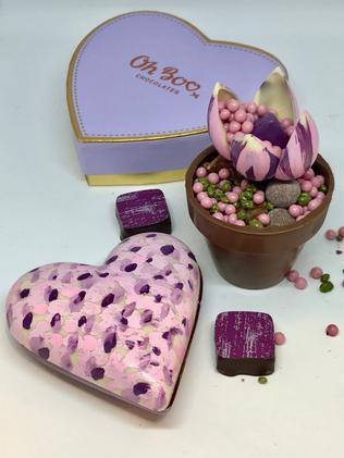 Oh! Boo Chocolates' handpainted chocolates. Picture: Jenifer Jagielski