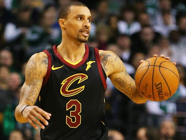 George Hill went from Sacramento to Cleveland in the trade.