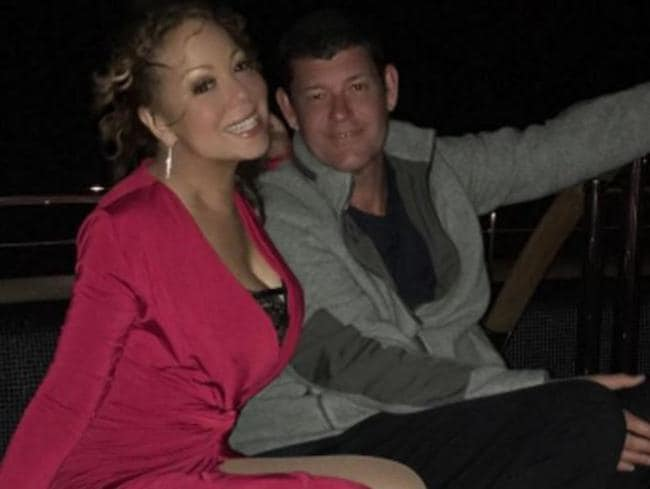 Mariah Carey and James Packer holidaying in Capri, Italy. Picture: Instagram
