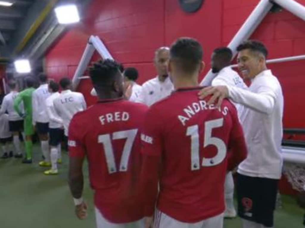 Roy Keane was left frustrated after seeing opposition players hug in the tunnel before big games