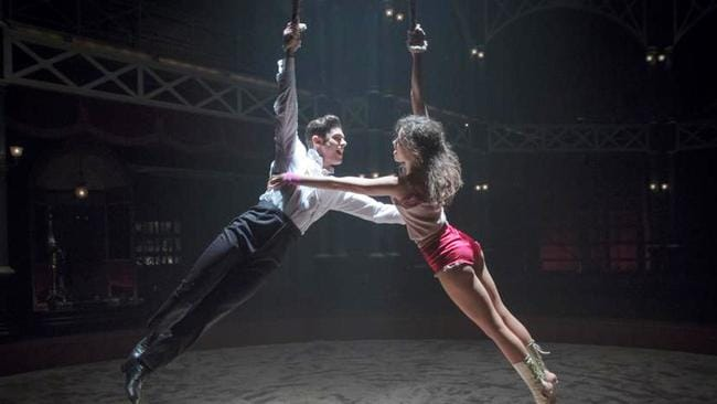 Eye-popping dance choreography lifts the movie