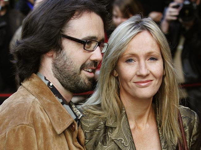 JK Rowling says she uses her husband Neil Murray's surname in her private life. Picture: AP/Andrew Milligan, PA
