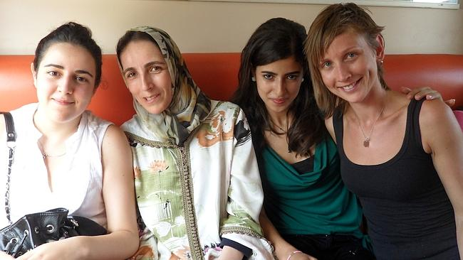 Local women on a train in Morocco were happy to share their travel advice with me. Picture: Tatyana Leonov