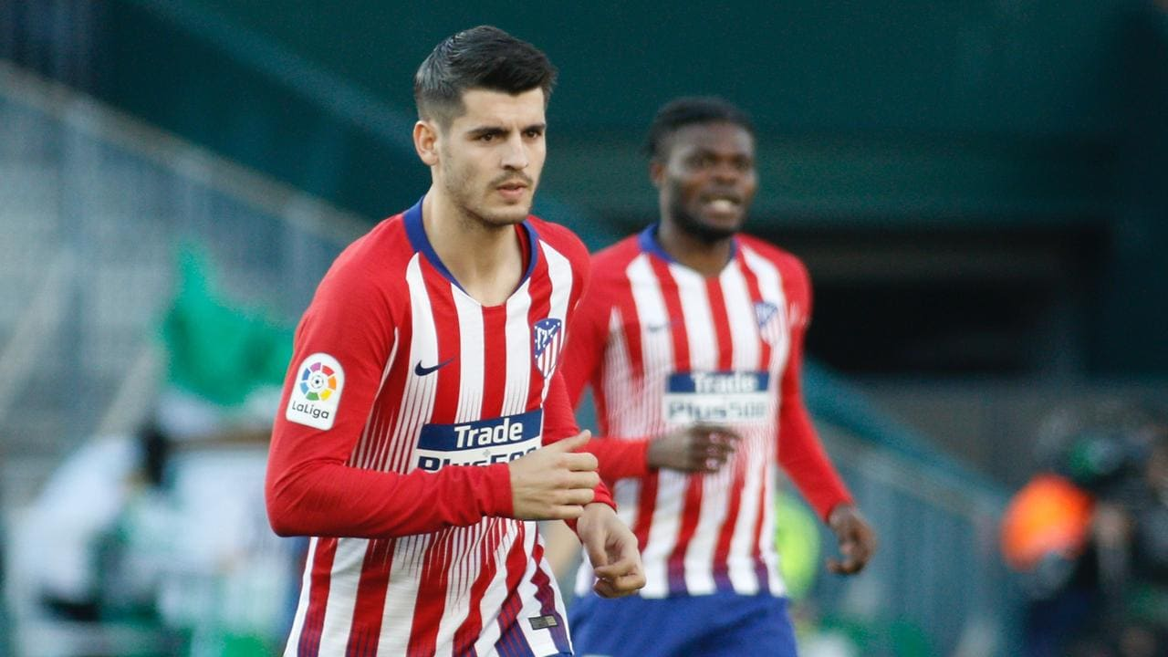 Former Real man Morata will face his old side.