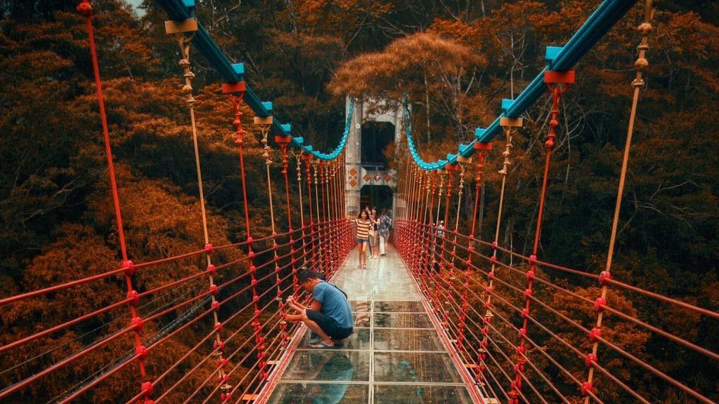 Αποτέλεσμα εικόνας για glass bridge taiwan