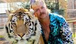 Joe Exotic in a scene from the true crime TV series Tiger King: Murder, Mayhem and Madness. Supplied by Netflix.
