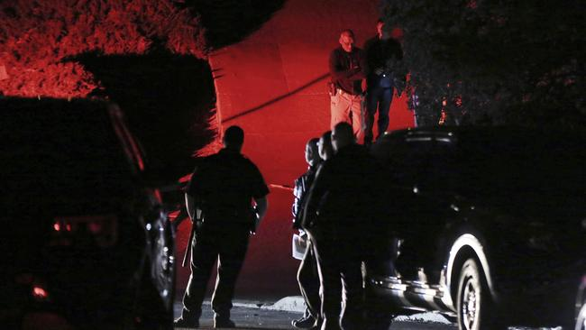 The shooting happened at a party attended by 100 people, police said. Picture: Ray Chavez/East Bay Times via AP