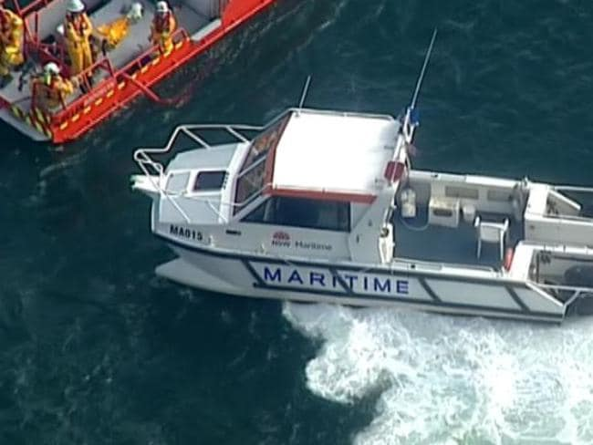 Three Marine Rescue vessels responded to the incident