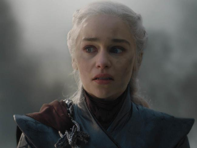 Fans were divided over Dany's change into the Mad Quee. Picture: AP