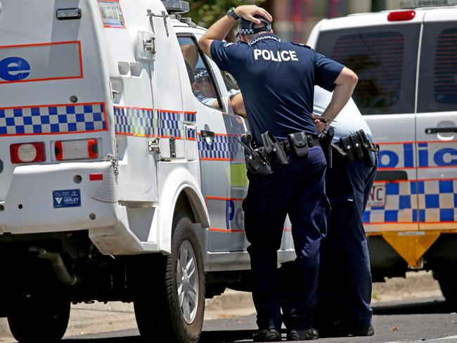 The first police to arrive on the scene were reportedly so distressed that they could be heard screaming for an ambulance from the street. Picture: Marc McCormack
