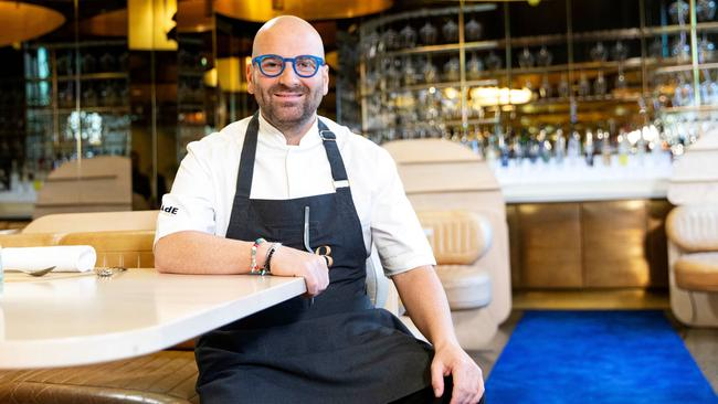 George Calombaris admits his focus wasn't on the back-end processes of his business.