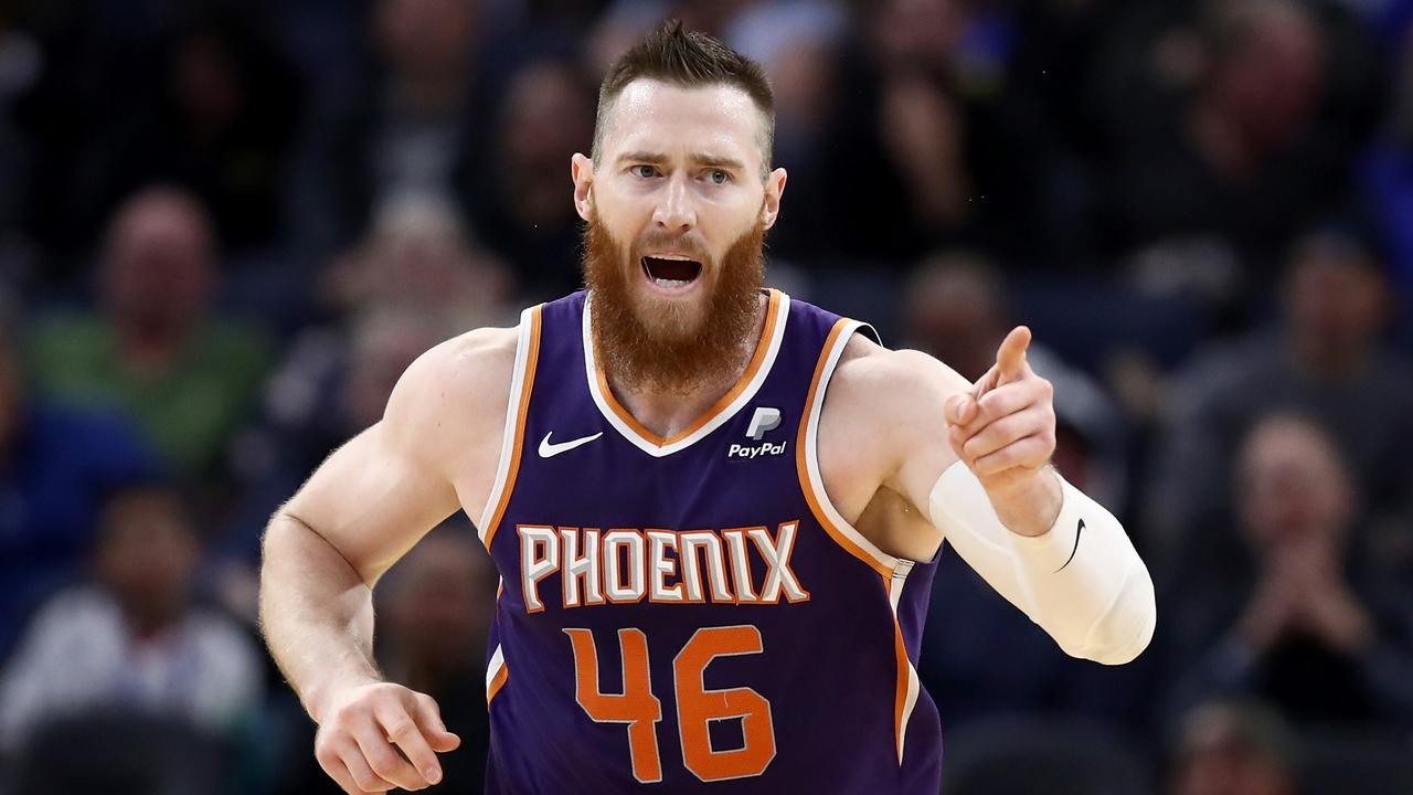 Could Aron Baynes return to Boston? (Photo by Ezra Shaw/Getty Images)