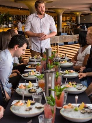 Seafood tasting at Opera Bar. Picture: Jacquie Manning