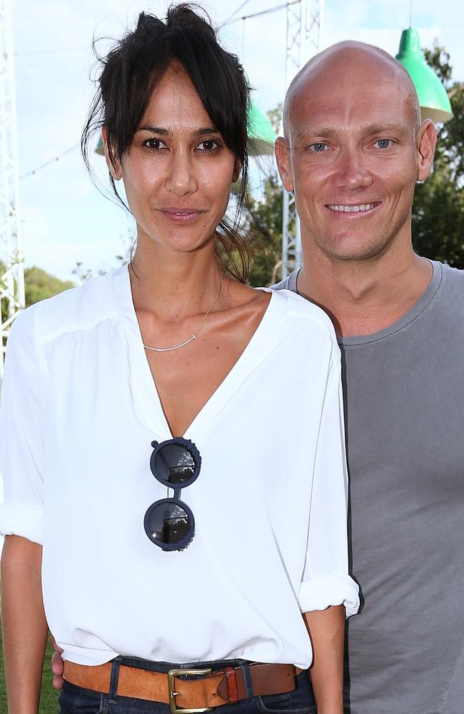 Michael Klim and Lindy snapped together in Melbourne in December 2015.