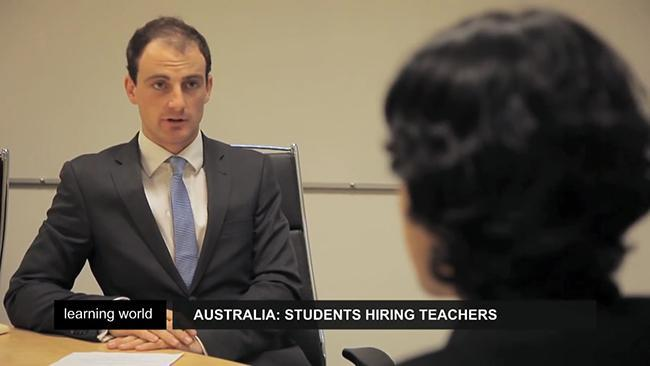 Students hiring teachers in Australia