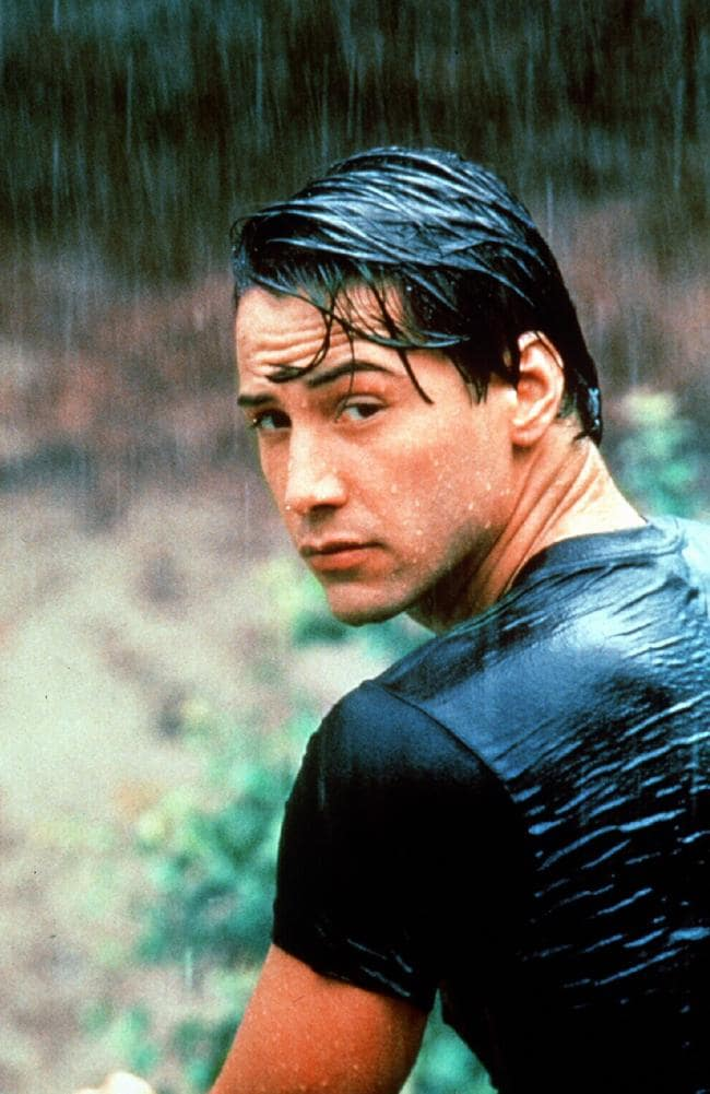 Keanu in the 1991 hit Point Break, which raked in more than 83 million at the box office.