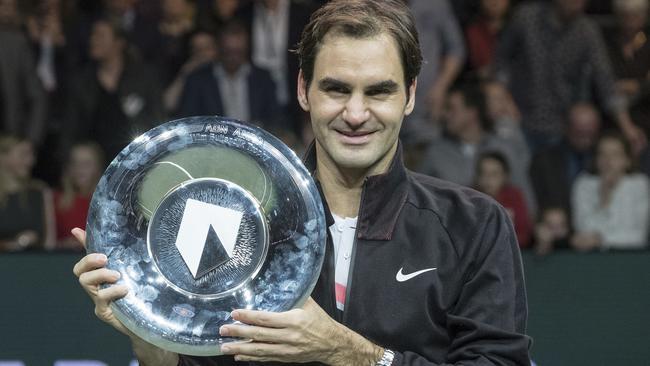 Roger Federer described his week in Rotterdam as 'unforgettable'.