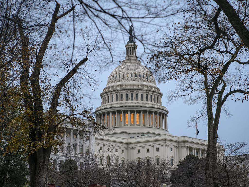 The impeachment report on Donald Trump will be unveiled Monday behind closed doors as Democrats push ahead with the inquiry. Picture: AP Photo/J. Scott Applewhite