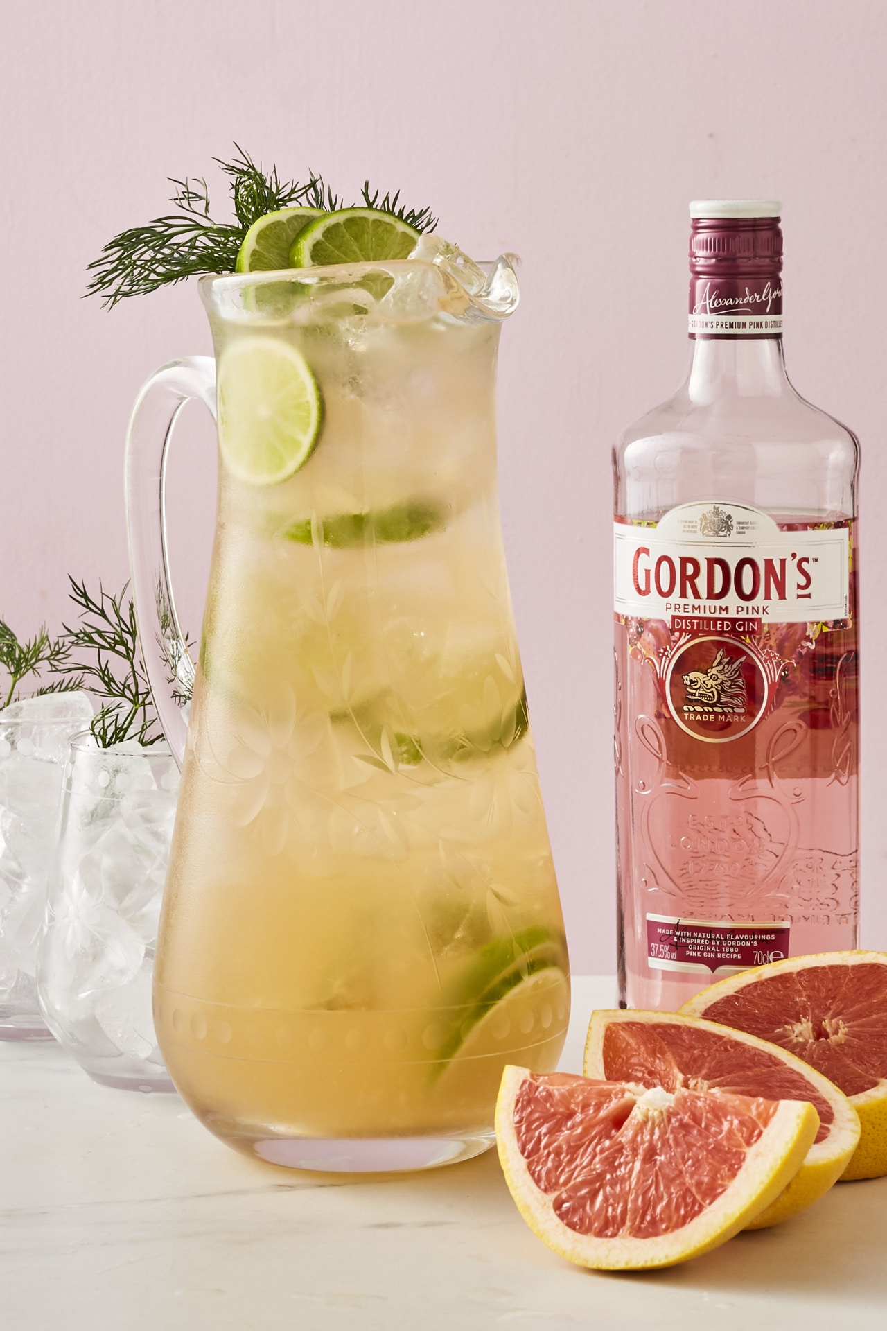 Master at-home entertaining with this recipe for pink gin punch